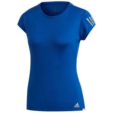 adidas 3-Stripes Club Tee Womens Royal Blue FU0875