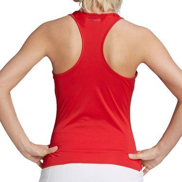 adidas Club Tennis Tank Top Womens Scarlet/Grey FU0883