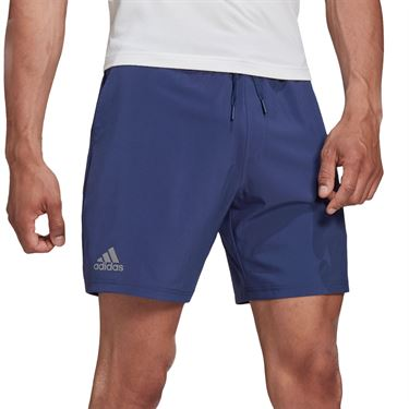adidas Club 7 Inch Shorts Mens Tech Indigo FU0900