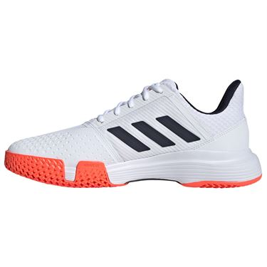 adidas Courtjam Bounce Shoes White/Navy/Red