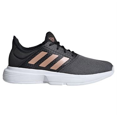 Adidas Game Court Womens Tennis Shoe Core Black Midwest Sports