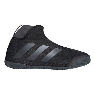 adidas Stycon Clay Womens Tennis Shoe Core Black/Night Metallic/Grey Six FV2782