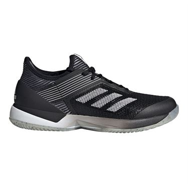 adidas Adizero Ubersonic 3 Clay Womens Tennis Shoe Core Black/White FV4053