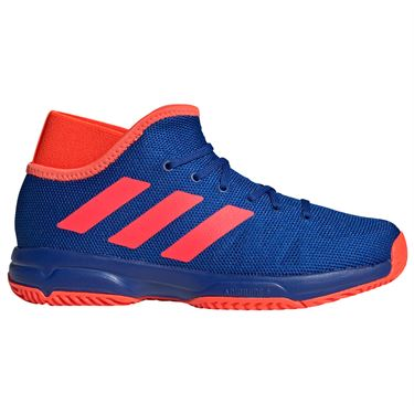 adidas Phenom Junior Tennis Shoes Collegiate Royal/Solar Red FV6787