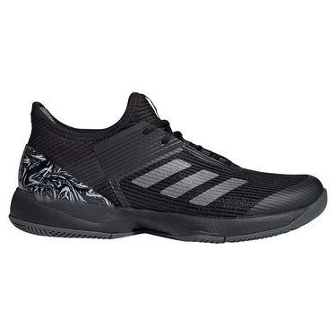 adidas Adizero Ubersonic 3 Womens Tennis Shoe Core Black/Grey Six FW0053