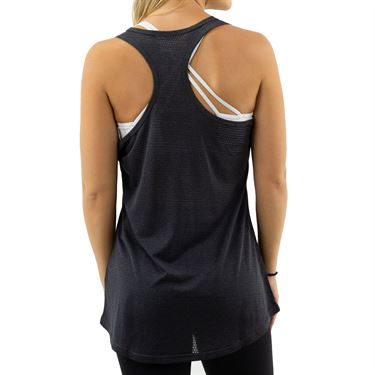 Fila Move It Loose Tank- Black Heather