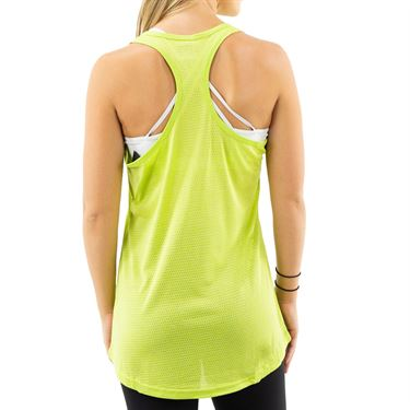 Fila Move It Loose Tank - Lime/Teal
