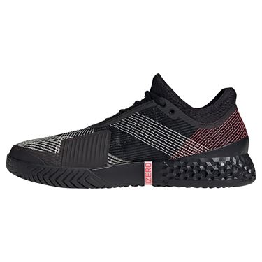adidas Adizero Ubersonic 3 Mens Tennis Shoe Core Black/Signal Pink FW4796