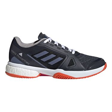 adidas Stella Court Boost Womens Tennis Shoe Legend Blue/Purple FX0072