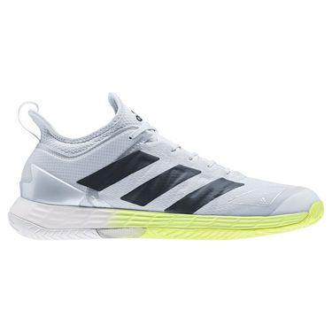 adidas Adizero Ubersonic 4 Mens Tennis Shoe White/Core Black/Halo Blue FX1364
