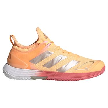 adidas Adizero Ubersonic 4 Womens Tennis Shoe Acid Orange/Silver/Hazy Rose FX1370
