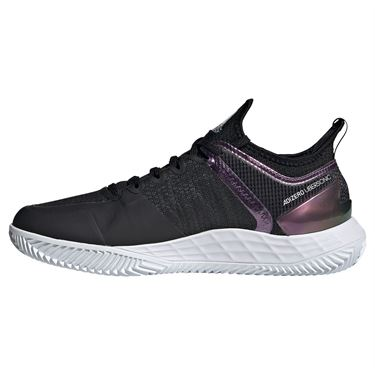 adidas Adizero Ubersonic 4 Clay Womens Tennis Shoe Core Black/Silver/White FX1374