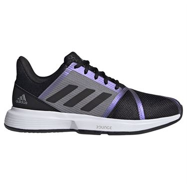 adidas CourtJam Bounce Mens Tennis Shoe Core Black/Grey Two FX1493