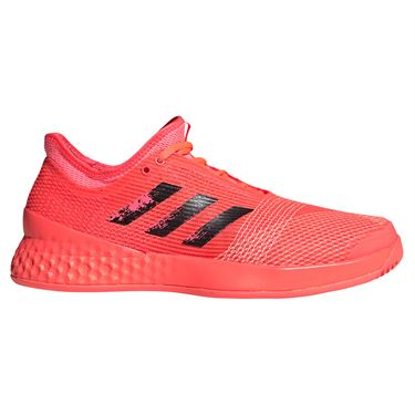adidas Adizero Ubersonic 3 Mens Tennis Shoe Signal Pink/Core Black/Copper Metallic FX1808