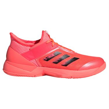 adidas Adizero Ubersonic 3 Tokyo Womens Tennis Shoe Core Black/Copper Metallic/Signal Pink FX1828