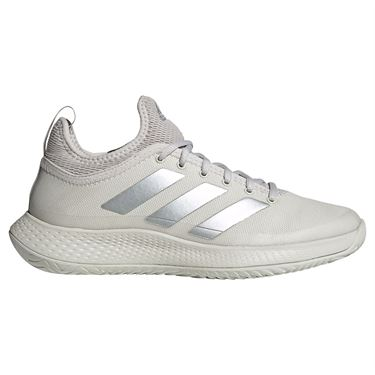 adidas Defiant Generation Multicourt Womens Tennis Shoes Orbit Grey/Silver Met FX5815