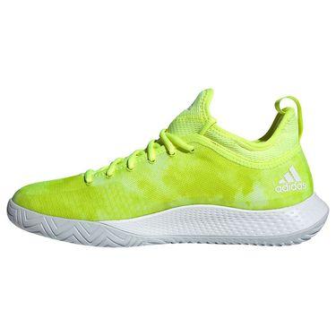 adidas Defiant Generation Mens Tennis Shoe Solar Yellow/Halo Blue/White FX7749