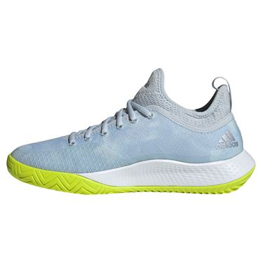 adidas Defiant Generation Womens Tennis Shoe Halo Blue/Solar Yellow/White FX7752