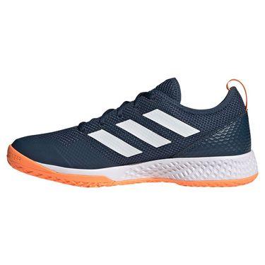 adidas Court Control Mens Tennis Shoe Crew Navy/White/Screaming Orange FZ3648