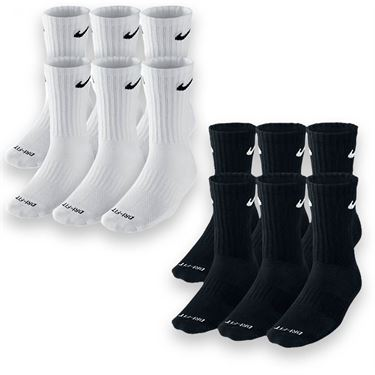 Nike Dri-FIT Crew 6-Pack Sock