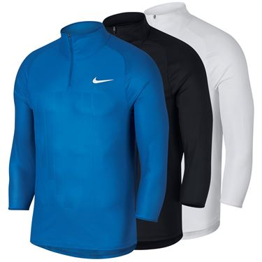 Nike Court Challenger 3/4 Sleeve Tennis Shirt