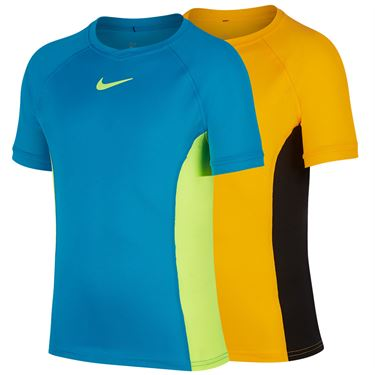 Nike Boys Court Dri Fit Crew Shirt