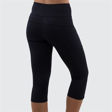 Bluefish Core Sleek Capri Womens Black G1784