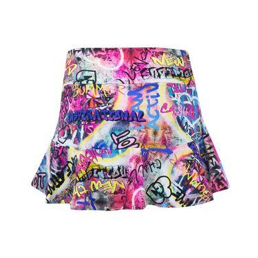 Bluefish Fearless Full Skirt - Graffiti