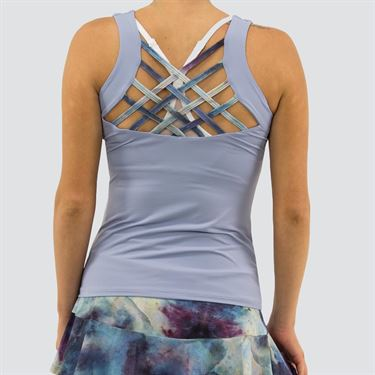 Blue Fish Galaxy ChiChi Tank Womens Frozen/Water G2044 FW