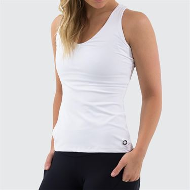 Bluefish Core Chichi Tank Womens White G2044 WT