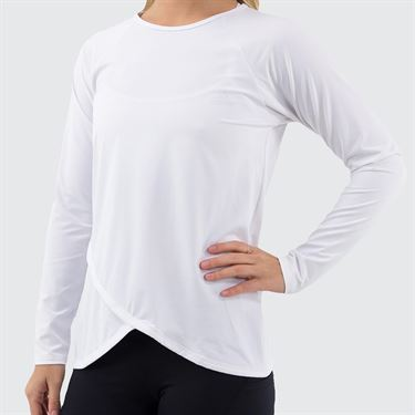 Bluefish Core Spirit Long Sleeve Top Womens White G2090 WTû