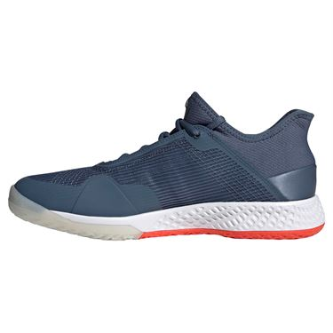adidas adizero Club Mens Tennis Shoe - Tech Ink/Active Orange