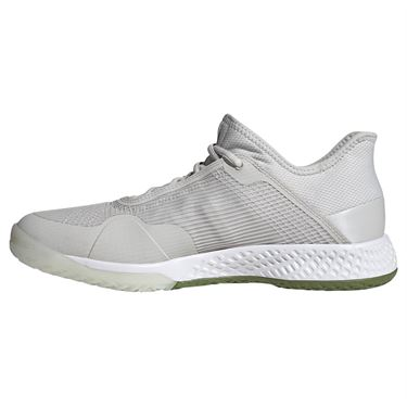 adidas adizero Club Mens Tennis Shoe - Grey One/Legend Earth/Tech Olive