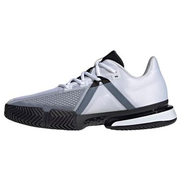adidas Sole Match Bounce Mens Tennis Shoe - White/Black
