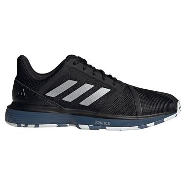 adidas Court Jam Bounce Multicourt Mens Tennis Shoe - Black/Silver Metallic/Tech Ink