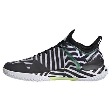 adidas Adizero Ubersonic 4 Mens Tennis Shoe Core Black/Solar Yellow/White G55454