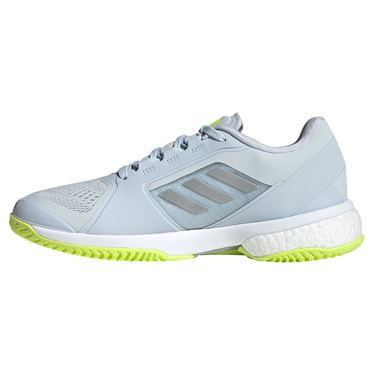adidas aSMC Womens Tennis Shoe Halo Blue/Silver/Solar Yellow H55659