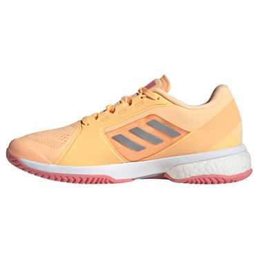 adidas aSMC Womens Tennis Shoe Acid Orange/Silver/Hazy Rose G55660