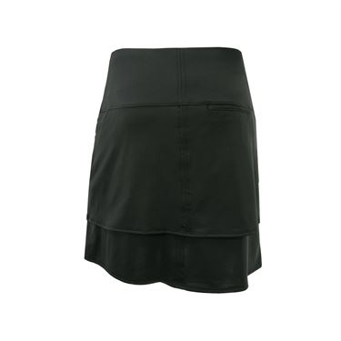 Lucky in Love Monarch Modern Layer Golf Skirt - Black