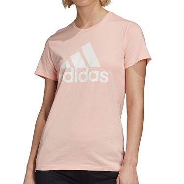 adidas Badge of Sport Cotton Tee Womens Haze Coral GC6948