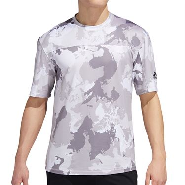 adidas Continent Camo City Tee Mens White GC8263