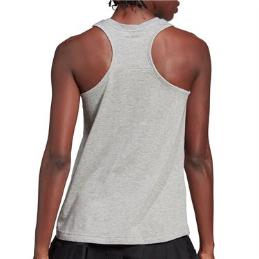 adidas US Open Tank Womens Medium Grey Heather GD9109