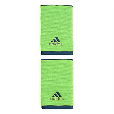 adidas Tennis Large Wristband - Glory Mint/Tech Indigo