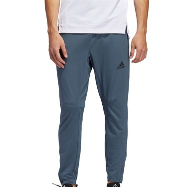 adidas City Studio Fleece Pant Mens Legacy Blue GE3408