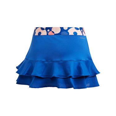 adidas Girls Frill Skirt Team Royal Blue GE4816
