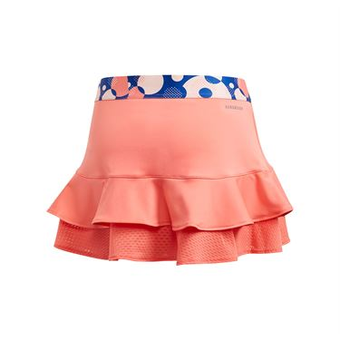 adidas Girls Frill Skirt Flash Red GE4817