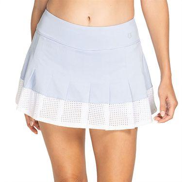 Eleven Geometric Flutter Skirt 13 inch Womens Blue Mist GE5166 414