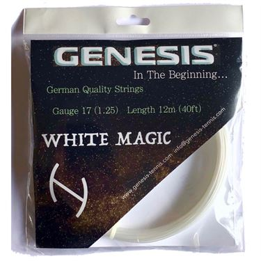 Genesis White Magic 17G Tennis String