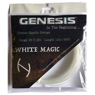 Genesis White Magic 16G Tennis String