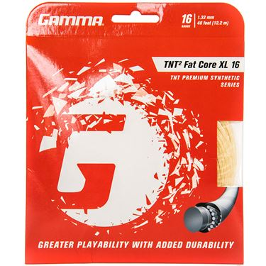 Gamma TNT2 Fat Core XL 16g Tennis String